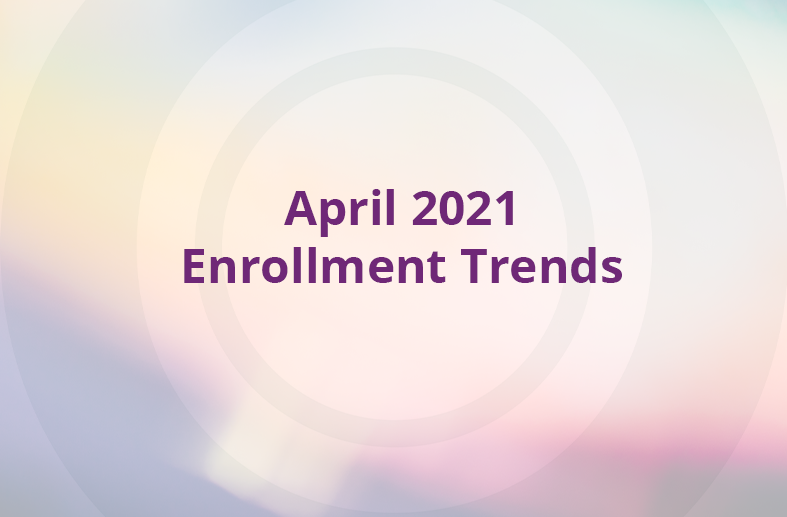 April 2021 Enrollment Trends