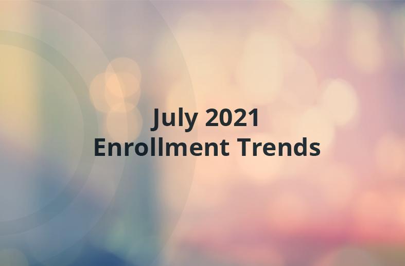 [2021] Higher Education Enrollment Trends: July Snapshot